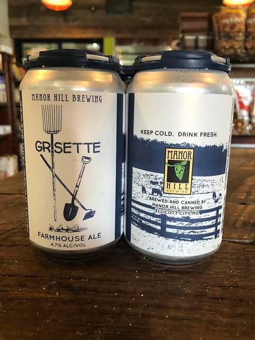 Manor Hill Grisette Farmhouse Ale