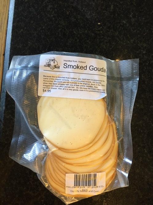 sliced smoked gouda (approx. 8 oz)