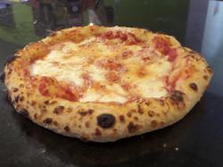 tomato pizza close up