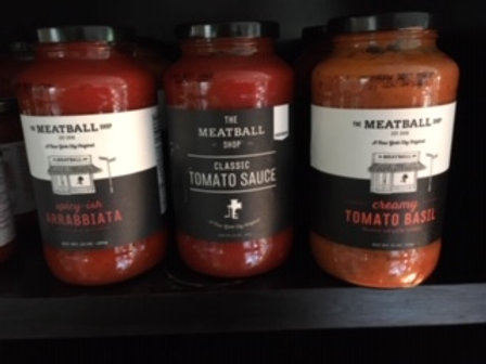 The Meatball Shop Pasta Sauces