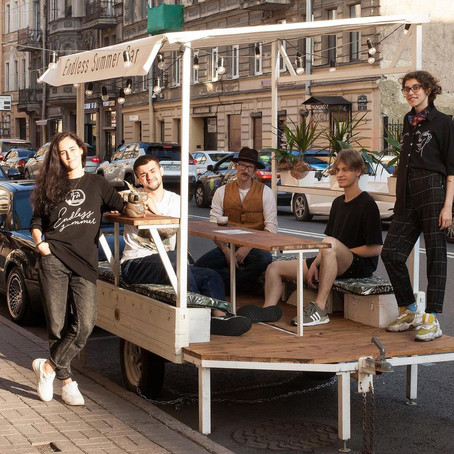 Парклеты пробуют городские улицы