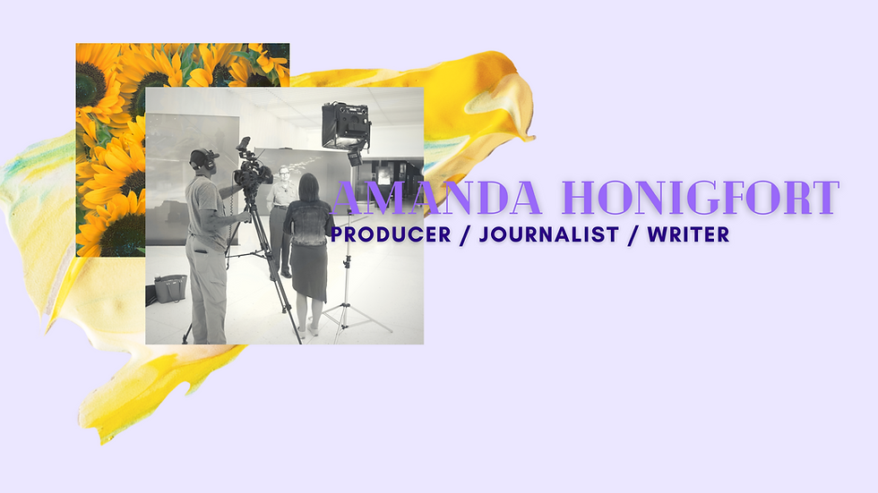 Amanda Honigfort producer journalist wri