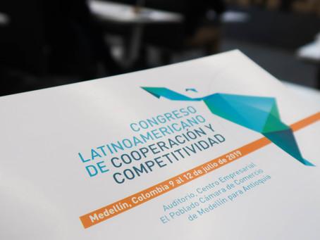 CONGRESO LATINOAMERICANO DE COOPERACIÓN Y COMPETITIVIDAD MEDELLÍN - COLOMBIA