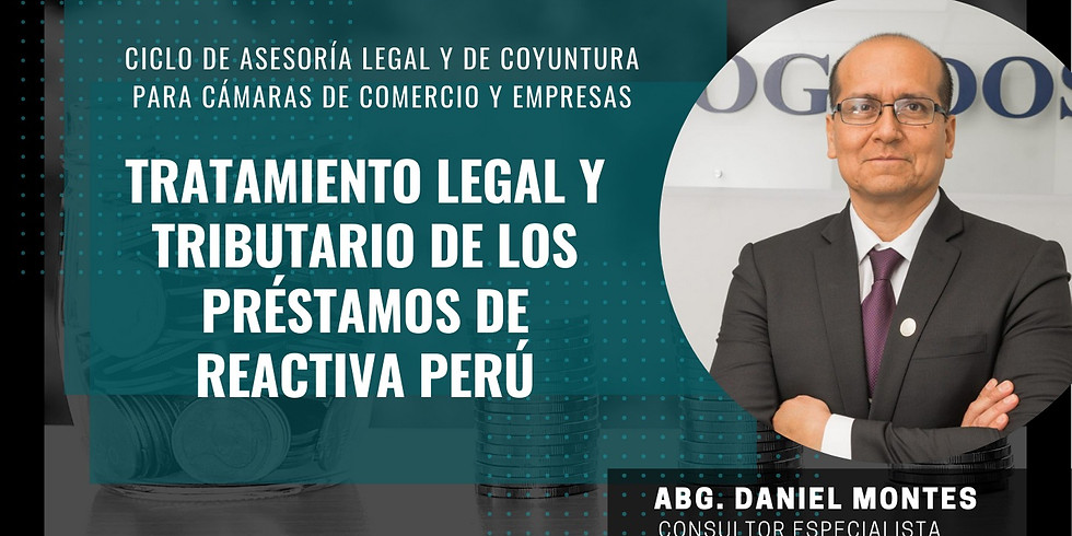 Tratamiento Legal y Tributario de los préstamos de Reactiva Perú