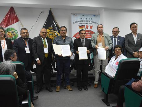 ACUERDO JUNÍN: ASPECTOS CLAVES Y AGENDAS DE PROYECTOS PRIORITARIOS DE ARTICULACIÓN PÚBLICO-PRIVADA