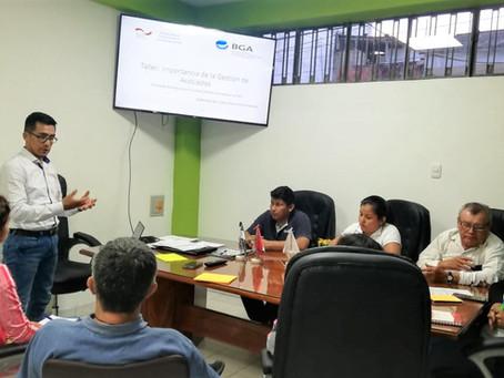 Cámara de Comercio de San Martín recibe capacitaciones en temas de gestión de asociados y procesos