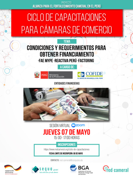 CONDICIONES Y REQUERIMIENTOS PARA OBTENER FINANCIAMIENTO