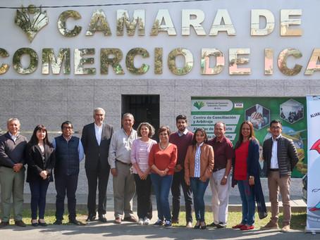 CÁMARAS DE COMERCIO SE REUNEN PARA TRATAR AGENDAS COMUNES