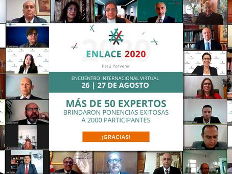 Más de dos mil empresarios se reunieron en ENLACE 2020 - Perú PorVenir