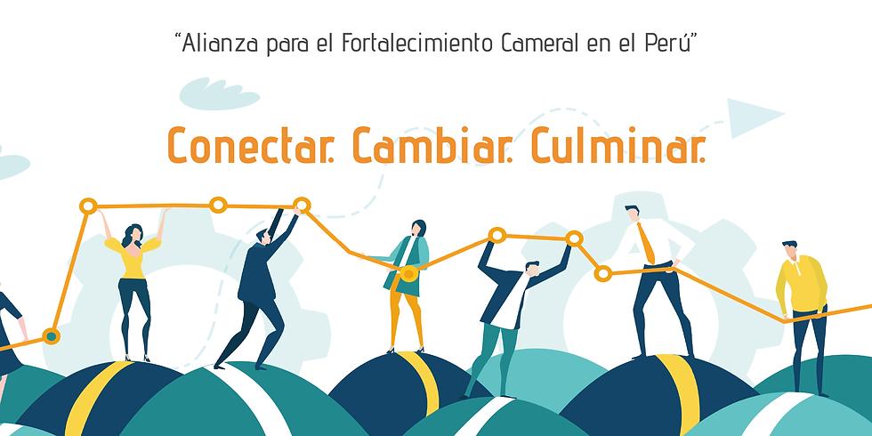 """Evento de cierre del proyecto """"Alianza para el Fortalecimiento Cameral en el Perú"""""""