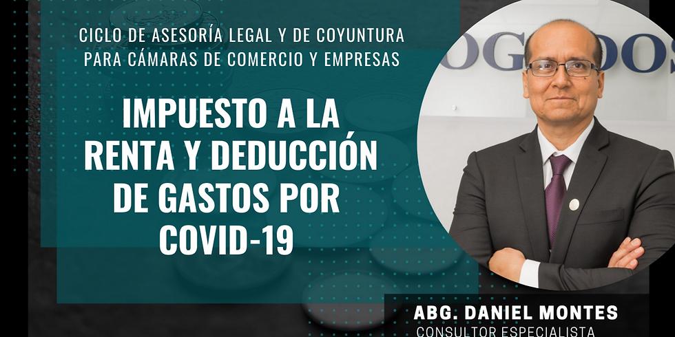 Impuesto a la renta y deducción de gastos por Covid-19