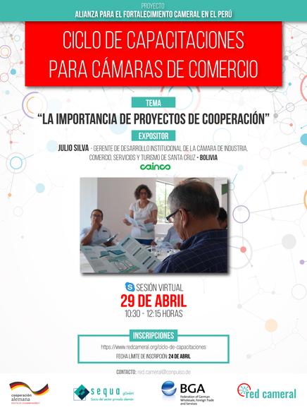 LA IMPORTANCIA DE PROYECTOS DE COOPERACIÓN