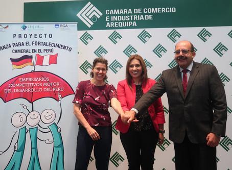 Cámara de Comercio e Industria de  Arequipa presenta nuevo servicio de Desarrollo Económico Local