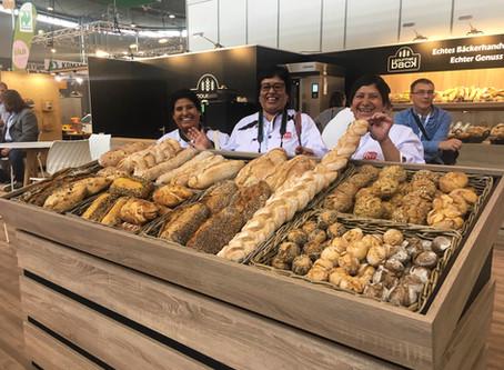 Panaderas de Concepción visitan la feria Südback en Alemania