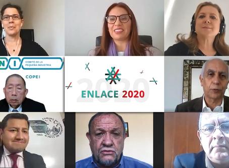 """Empresarios presentaron al Gobierno conclusiones de """"ENLACE 2020"""" para la reactivación económica"""