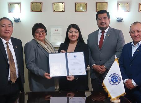 """Otorgan reconocimiento al proyecto """"Alianza para el Fortalecimiento Cameral en el Perú"""""""