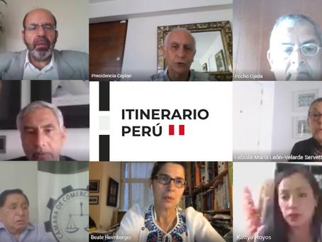 Gobierno destaca propuestas de Cámaras de Comercio regionales en Itinerario Perú