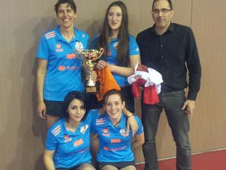 Les Londraines championnes Hérault 2 en salle