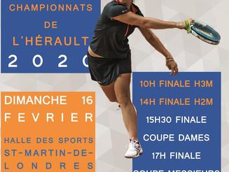Finales de coupe et championnat Hérault