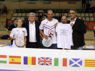Lionel CHARLES désigné meilleur joueur de l'EuroTambourin 2015