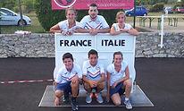 France - Italie U18 filles 2014