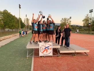 Les filles remportent la coupe de France