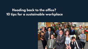 10 tips for a sustainable workplace