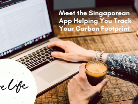 Meet the Singaporean App Helping You Track Your Carbon Footprint