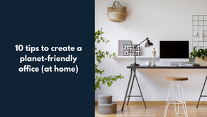 10 tips to create a planet-friendly home office