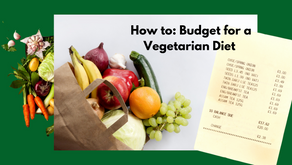 How to: a vegetarian week on a budget!