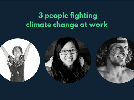 Climate change and work