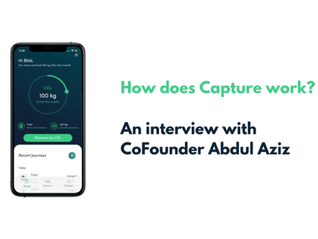 Coffee break with CoFounder Aziz