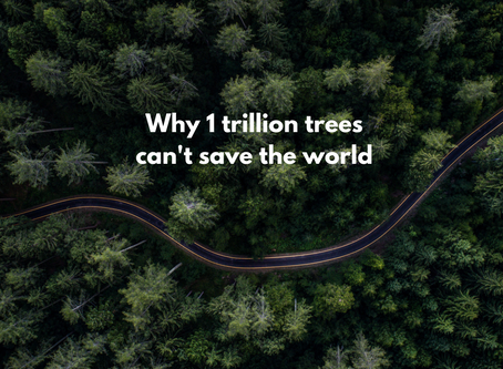 1 trillion trees can't save the world