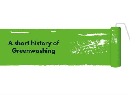 A Short History of Greenwashing