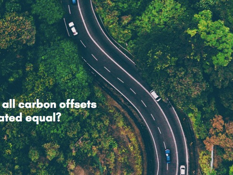 Opinion: are all carbon offsets created equal?