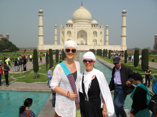 Reflections from Fear to Purification ~ Taj Mahal