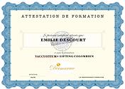 certificat lifting colombien