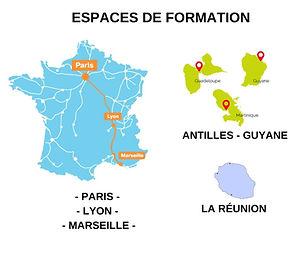 Formation lifting colombien France et Antilles Guyane