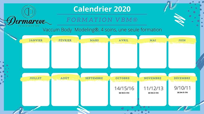 Formations VBM 2020