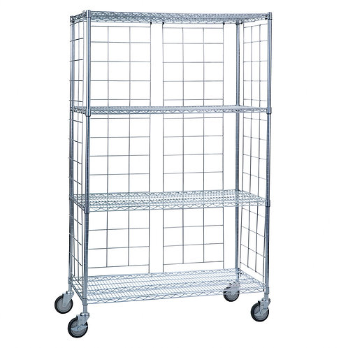 Wire Laundry Storage with Wheels