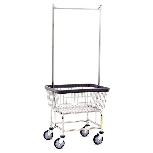 Standard Laundry Cart with Rack