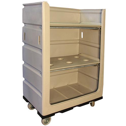 Bulk Laundry Bin with Shelves