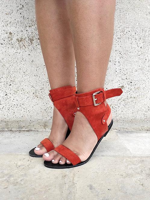 Sandales boho - Rouille