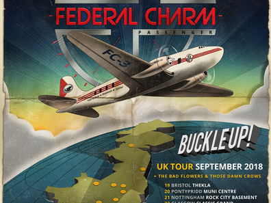 FEDERAL CHARM - Passenger. New Album and UK Tour