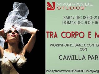 Tra corpo e materia - workshop a Catania