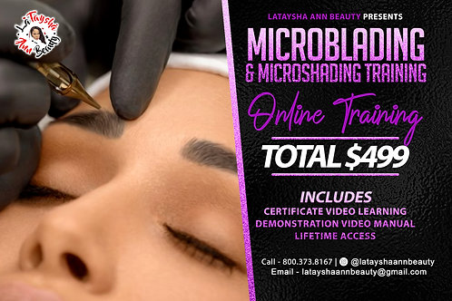 Microblading  & Microshading will be Sent out June 28th