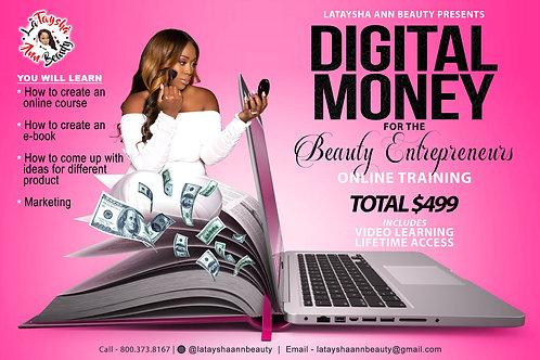 Digital Money Beauty Entrepreneur pre order   june 14