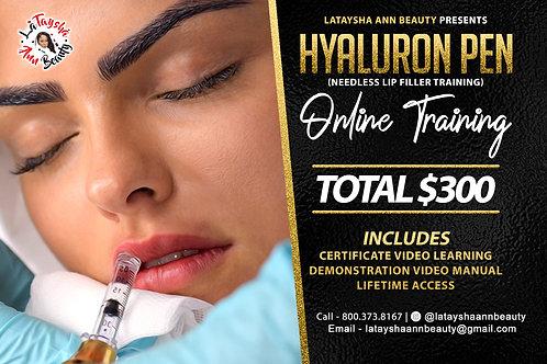 Hyaluron Pen ( needle less lip filler course )
