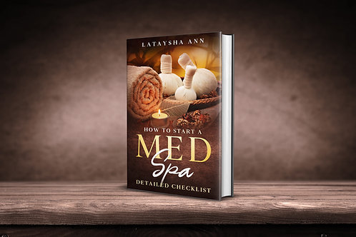 How to start a med spa detailed checklist e book
