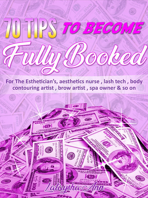 70 tips to become fully booked e book